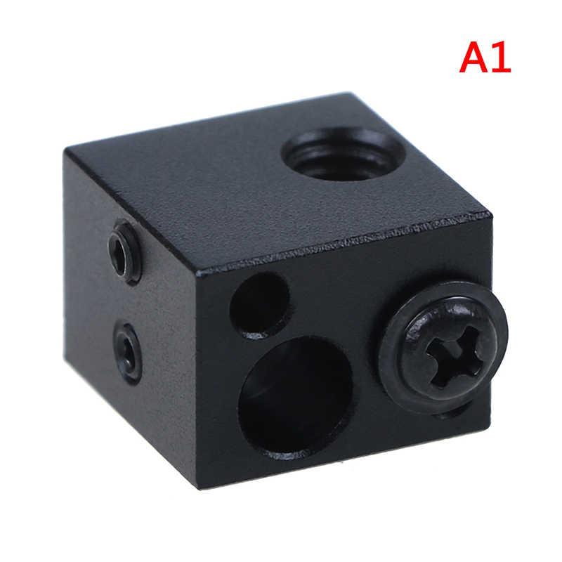 Алюминиевый тепловой блок для J-head экструдер HotEnd 3D принтеры силиконовые носки части BP6 нагревательный Блок аксессуары
