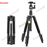 Camera Tripod QZSD Q555 Aluminium Alloy Camera Video Monopod Professional Extendable Tripod With Quick Release Plate Stand CD50
