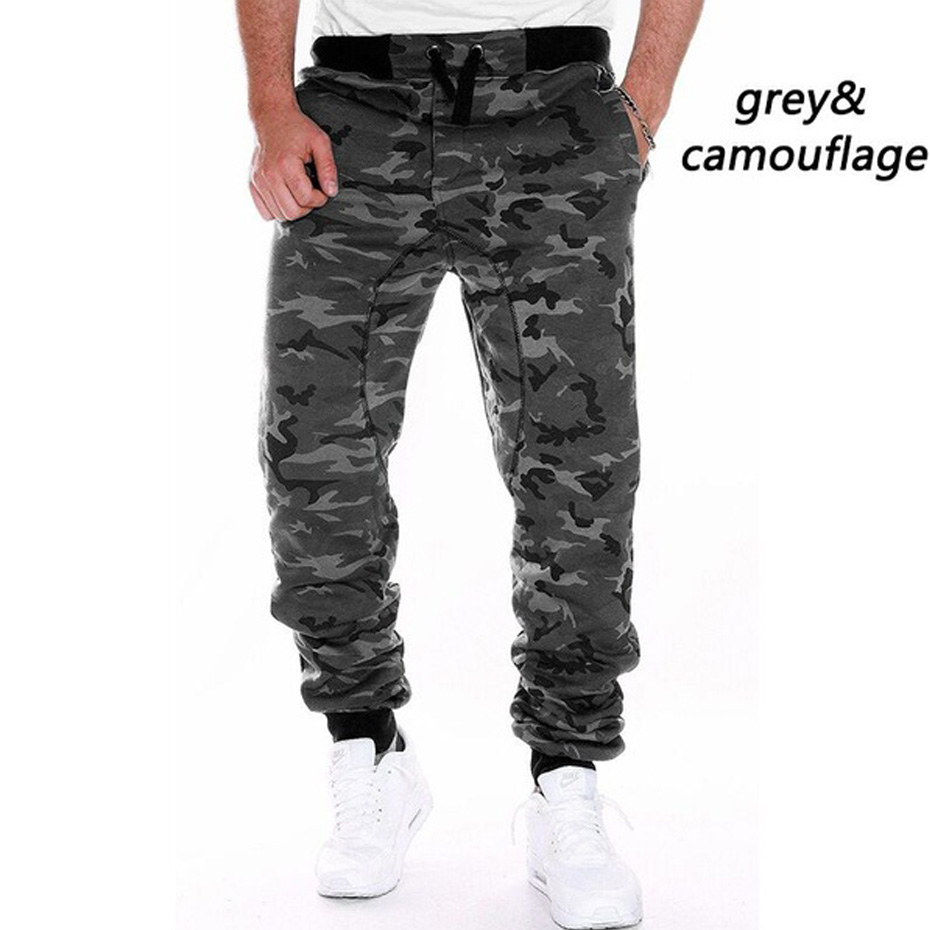ZOGAA 2019 Men Spring Autumn Camouflage Pants Sweatpants Trousers Male Casual Fashion Slim Fit Large Size Pants Men