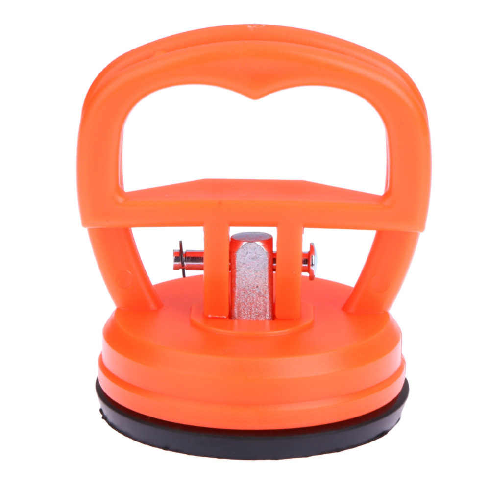 Universal 2.2 นิ้วขนาดเล็ก Dent Repair PULLER Lifter เปิดหน้าจอเครื่องมือสีส้มรถกระจกหน้าจอดูด Sucker เครื่องมือ