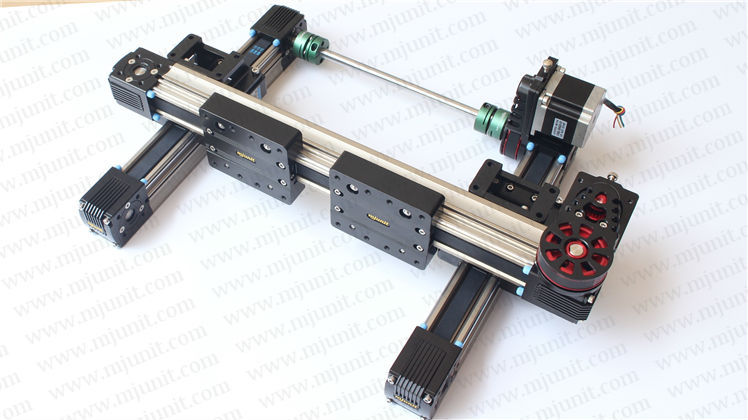 MJUNIT xy postioning axis Linear Motion Shaft Support Series Slide CNC Aluminum Rail high quality scv25uu slide linear bearings aluminum box type cylinder axis scv25 linear motion ball silide units cnc parts high quality