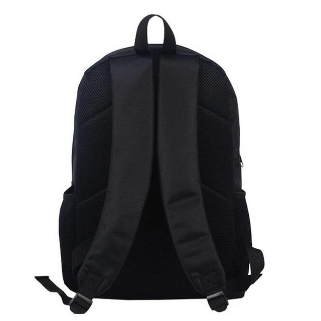 NARUTO Backpack 3D Printing College Student School Bag