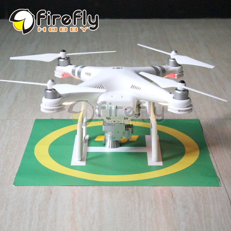 Drone Landing Field Parking Apron Launch Pad Sticker Decal Tag Signboard 1pc for DJI Phantom 3 2