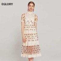 Высококачественное платье 2019 весна лето модное свадебное платье Vestidos Женский вышитый тюль в стиле пэчворк, с кружевом приталенное платье