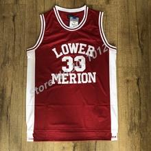 40c45aa2c EFKGH Mens Kobe Bryant 33 Lower Merion High School Basketball Jersey  Stitched S-XXL. US  23.40   piece Free Shipping