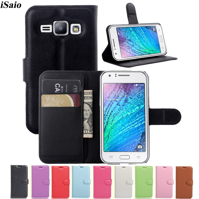 J1 Case Wallet Filp Leather Cover For Samsung Galaxy J1 J100 <font><b>J100H</b></font> J100f SM-J100Fn SM-<font><b>J100H</b></font> 4.5 Protective TPU Phone Bags Fundas image