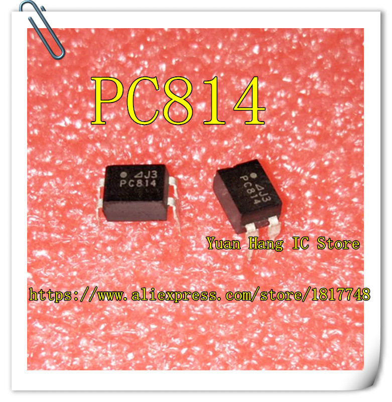 10pcs/lot PC814 EL814 DIP-4 Photo Coupler Photocoupler