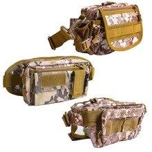Camo Multi Purpose Fishing Waist Bag Nylon Outdoor Carry-on Bag Fishing Lure Tackle Tool Pocket Carp Fishing Accessories Pack