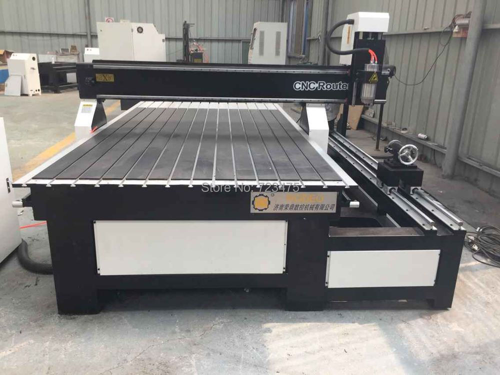 High Quality Cnc Router 1325 With Adsorbent Vaccum Table