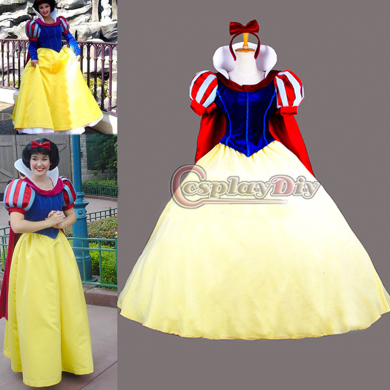 Photo robe blanche neige