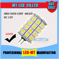 Retail High Power SMD 5050 G4led bulb DC 12V 5W 7W 9W 12W LED cron light 360 Beam Angle LED Lamps warranty 2 years Free Shipping