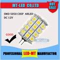 Varejo de Alta Potência SMD 5050 G4led lâmpada DC 12 V 5 W 7 W 9 W 12 W LEVOU cron luz 360 Ângulo de Feixe Lâmpadas LED 2 anos de garantia Frete Grátis