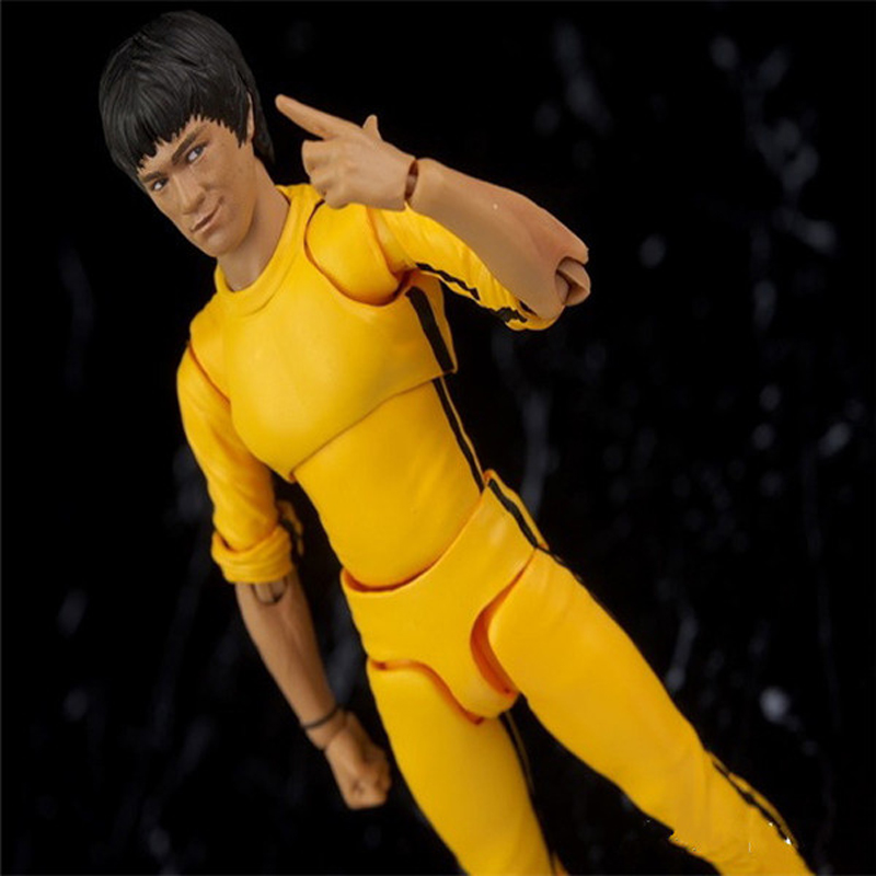 SHFiguarts 1978 Juego de la Muerte Kung Fu Master Bruce Lee PVC - Figuritas de juguete - foto 2