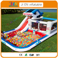 6mL*3.5mW*3mH  Cheap Inflatable Shark Slide with Bounce House Castle,Shark Inflatable Slide