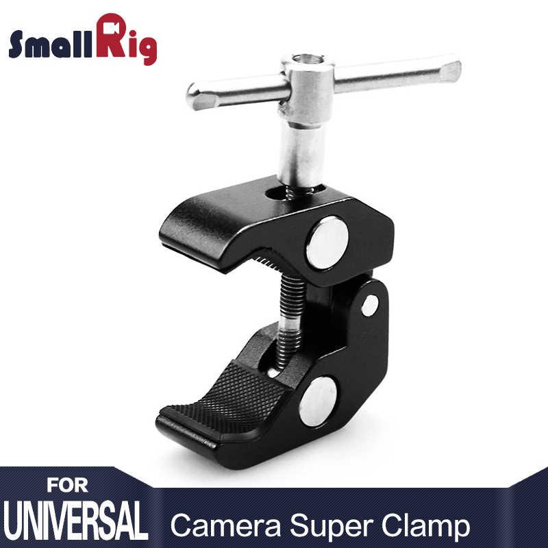 """SmallRig Мультифункциональный суперзажим шаровой головкой зажим Magic Arm Супер Зажим w/1/4 """"нить для gps телефон ЖК-дисплей/DV монитор видео светильник"""