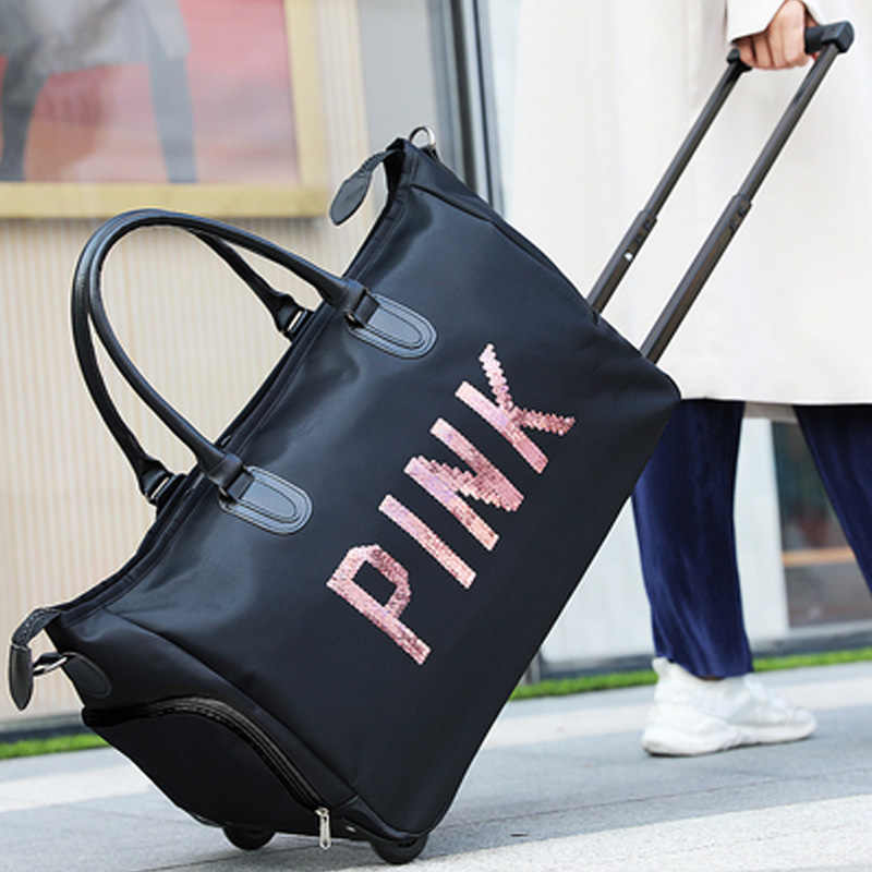 827a73b792d2 GraspDream New Waterproof Luggage Bag Thick Style Rolling Suitcase Trolley  Luggage Women Men Travel Bags Suitcase With