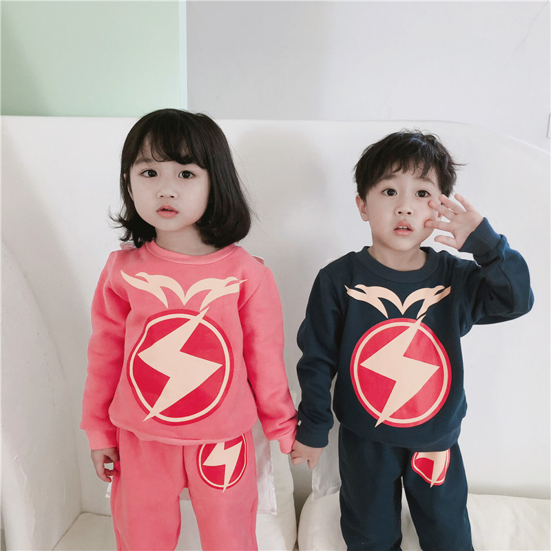 brother sister matching children clothes girls clothing set baby girl fall winter outfits christmas outfits cartoon 2pcs clothes