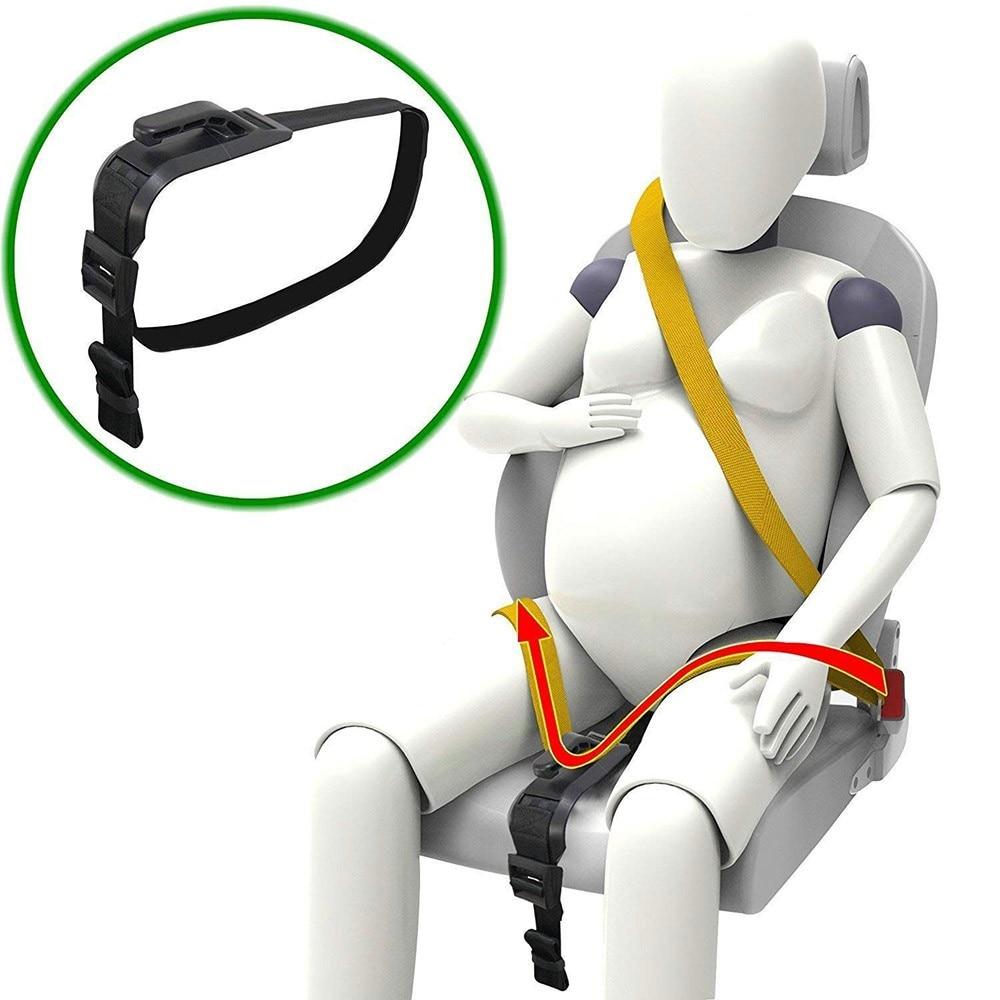 Pregnancy Seat Belt Pregnant Woman Safety Belt Maternity Car Belt Adjuster Mommy Belly Pregnant Driving Safe Belt