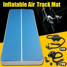 Free Shipping 4m 5m 6m Inflatable Gymnastics Mattress Gym Tumble Air track Floor Tumbling Air Track mat For Adults or Child