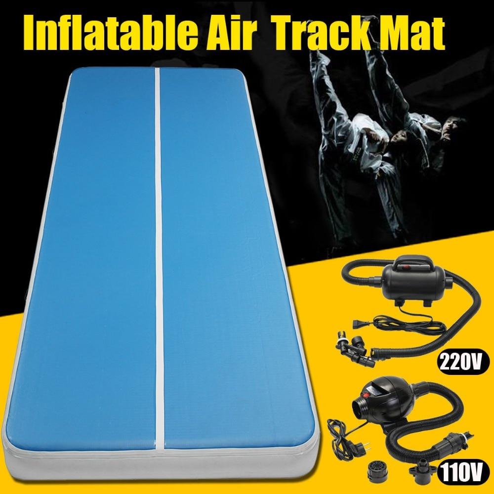 Livraison gratuite 4 m 5 m 6 m matelas de gymnastique gonflable Gym dégringolade Air piste plancher culbutant Air piste tapis pour adultes ou enfants