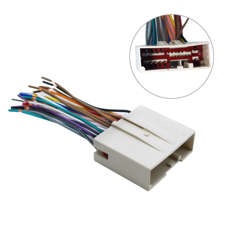 ford stereo wiring promotion shop for promotional ford stereo 10pcs car radio cd player wiring harness audio stereo wire adapter for ford install aftermarket stereo j 1695