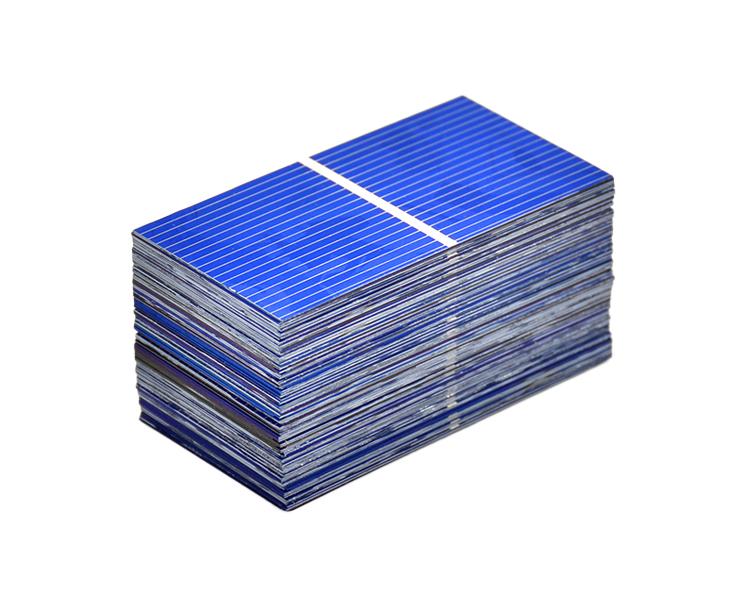 100Pcs Solar Panel China Painel Solar Polycrystalline Silicon Placa Solar DIY Panneau Solaire Solar Cells 52x26MM 0.45V 0.25W 8