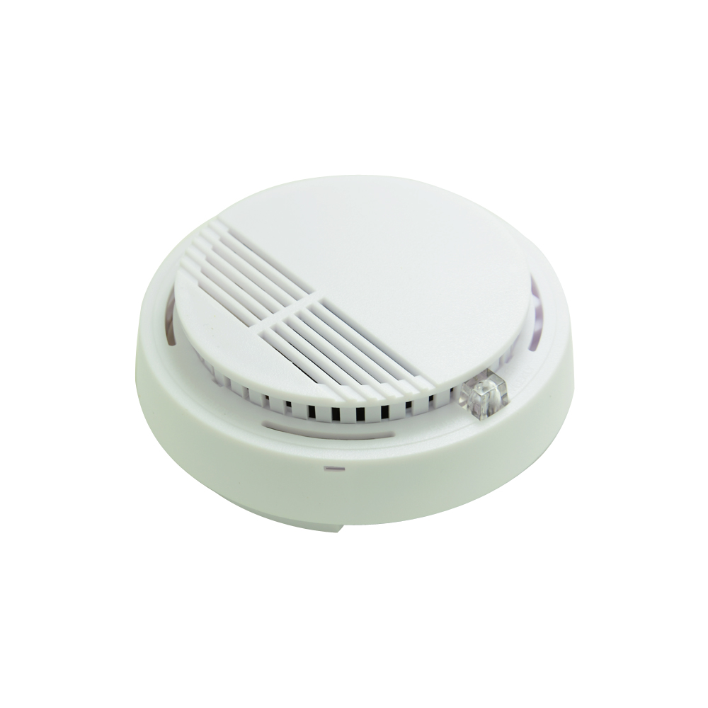 (1 PCS) 12VDC Wired Cable Link indoor Smoke Detector Fire Alarm sensor personal Home security Control Protection NC relay output 1 pcs indoor wired glass break sensor wall mounted vibration detecter security alarm crow gbd 02 shock detector freeshipping