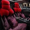 Piel de fundas de asiento de coche especial Para Audi A6L Q3 Q5 Q7 S4 A1 A2 A3 A4 b5 b6 b7 b8 A5 A7 A8 A6 C5 C6 coche accesorios car styling ROSA