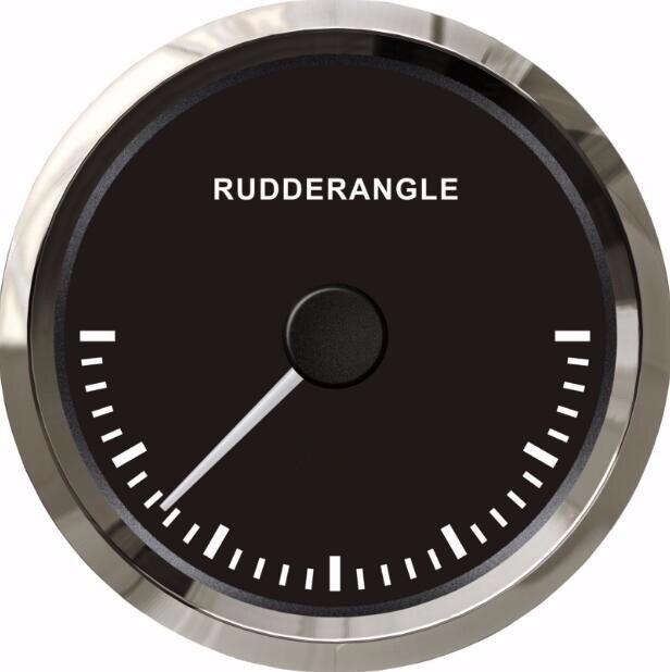 100% brand new 85mm rudder angle gauges rudder angle meters with sensor fit for boat black or white color 85mm 33 meters 0 08mm single side high