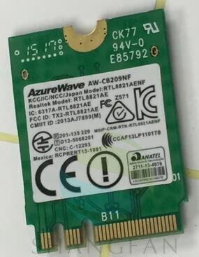Adaptador de Cartão sem fio para NGFF BlueTooth4.0 AW-CB209NF RTL8821AE RTL8821AENF 433Mbps AC AzureWave WIFI Cartão