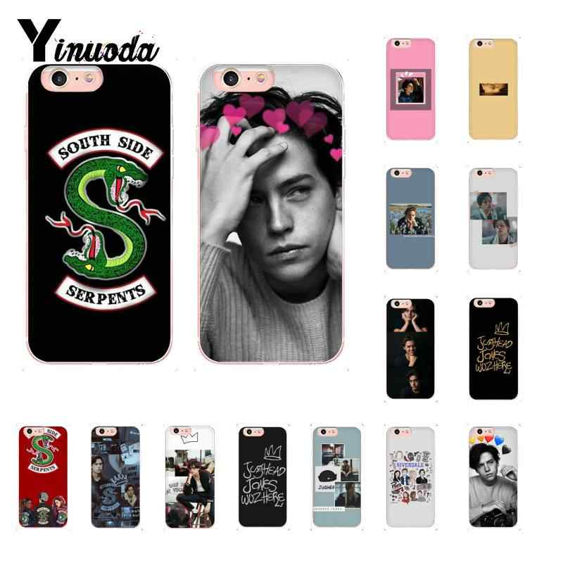 Yinuoda American TV Riverdale Jughead Pattern TPU Soft Phone Case for iPhone 8 7 6 6S Plus 5 5S SE XR X XS MAX 10 Coque Shell