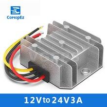 12V L 24V3A DC Power Converter 9-20V Variable 24V Car Boost Power Supply Module Transformer Waterproof цена 2017