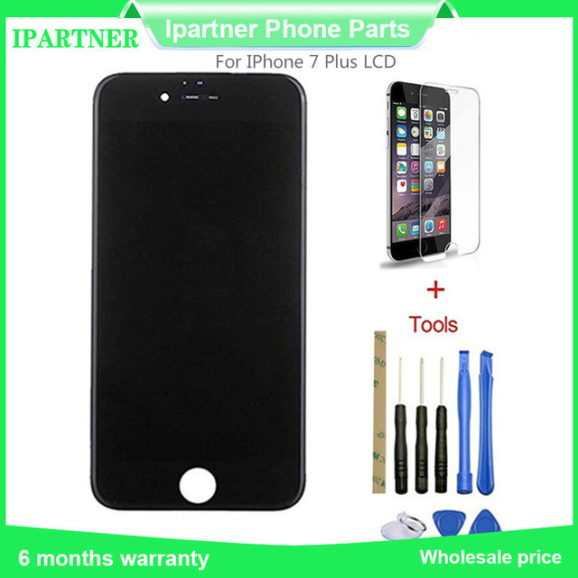 cheap for discount 1a97d 2068f US $14.43  For huaxing LCD Screen For IPhone 7 Plus LCD Display Touch  Digitizer Glass Screen Assembly 5.5 Inch Quality With 3M Sticker-in Mobile  Phone ...
