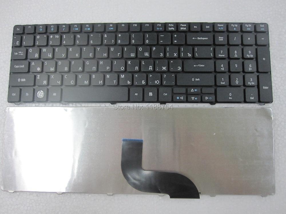 Новый русский клавиатура для Acer Aspire 5740 5740 г 5740z 5741 5741 г 5742 5742 г 5742Z 5745 г 5745 5745 P 5800 5250 RU черный Клавиатура