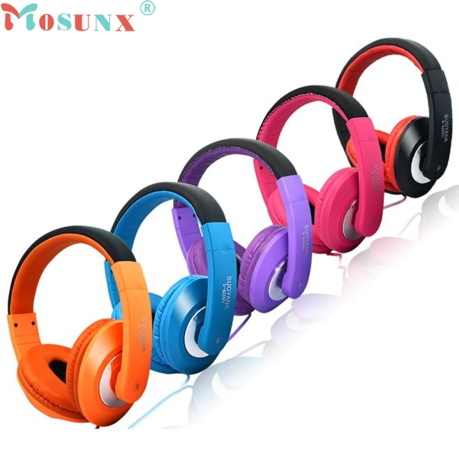 Mosunx Factory Price Stereo Earphone Headband PC Notebook Gaming Headset Microphone 0111 Drop Shipping factory price binmer hot selling 3 5mm super bass stereo in ear earphone headphone headset nov1 drop shipping