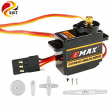 1pcs 100% Orginal EMAX ES08MA II Mini Metal Gear Analog Servo 12g/ 2.0kg/ 0.12 Sec Mg90S For 18DOF Biped Humanoid Robotic(China)
