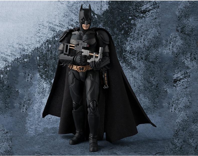СВЧ S. H. Figuarts Бэтмен Темная ночь подвижная фигурка Коллекционная модель игрушки 15,5 см ...