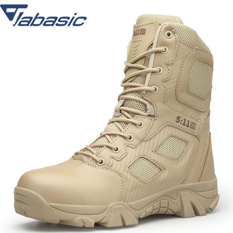 Mens Desert High-top Military Tactical Hiking Boots Male Breathable Non-slip Mountain Shoes Men Combat Professional Boot Aa60614 Uhren & Schmuck Modeschmuck