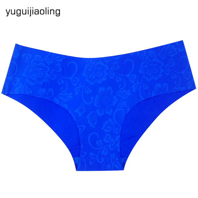 1PC Fashion Summer Sexy Women Lady Soft Silk Comfortable Underwear Panties Traceless Lingerie Hipster Seamless Briefs S/M/L/XL