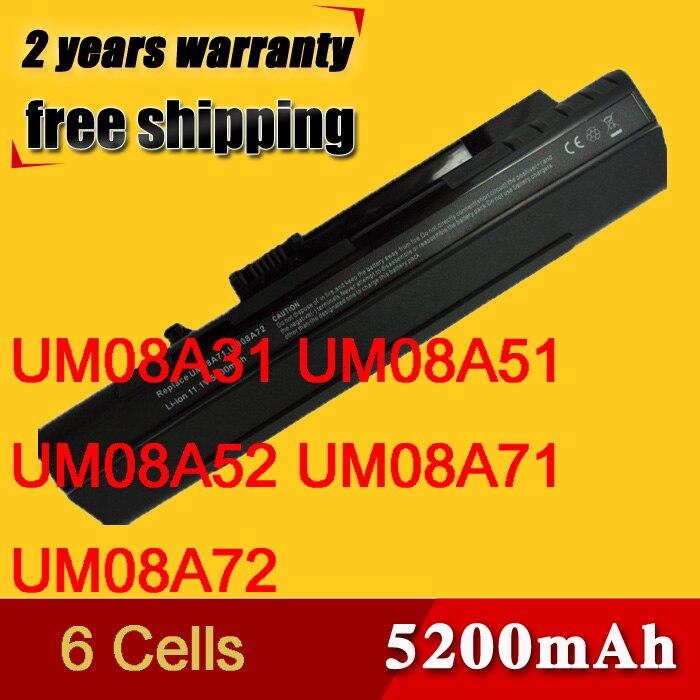 6 Cell Battery For Acer Aspire One Kav10 Kav60 Zg5 D150