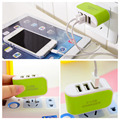 5 V/3.1A Triple Adaptador de $ number Puertos USB Cargador de Pared Universal Para El Teléfono Celular