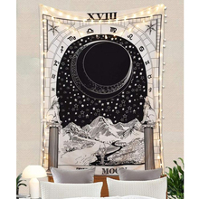 150x130cm Wall Hanging Divination Astrology Tapestry Sun Moon Rug Cloth Home Art Decoration