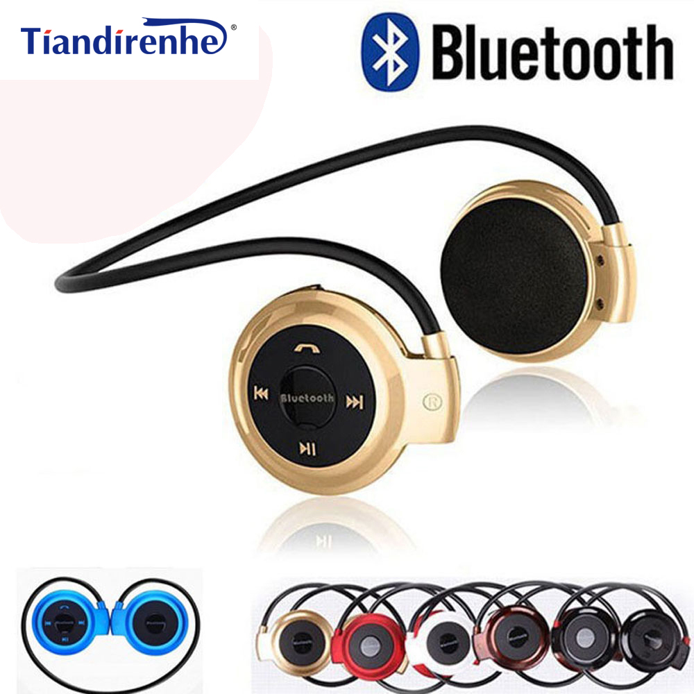 Mini503 Wireless Bluetooth Headphones Sport Music Stereo Bass Earphone SD Card Headphone with microphone Headset fone de ouvido awei stereo earphones headset wireless bluetooth earphone with microphone cuffia fone de ouvido for xiaomi iphone htc samsung