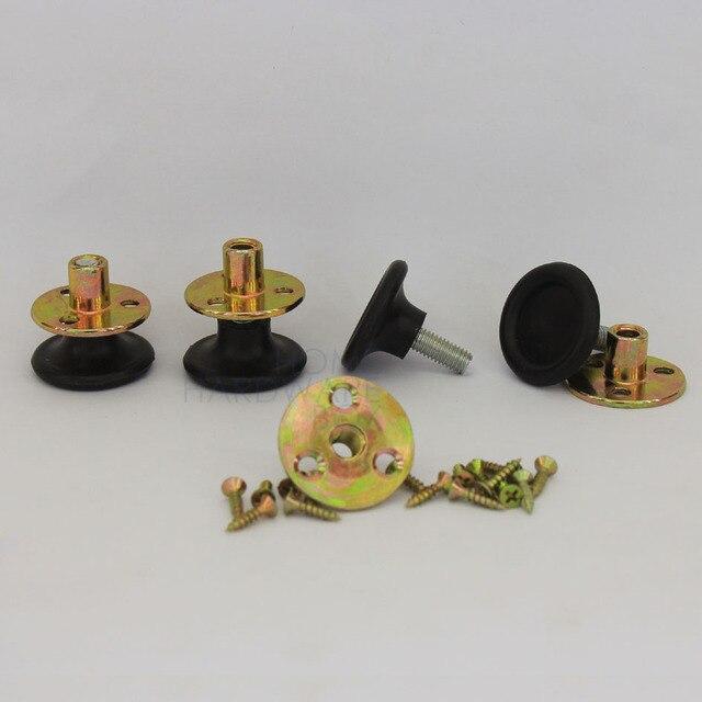 4 st ck h henverstellbar srecessed schraube schrank runde. Black Bedroom Furniture Sets. Home Design Ideas