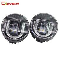Cawanerl 2 шт. стайлинга автомобилей светодиод спереди туман свет DRL дневные Бег лампа для Infiniti EX35 G25 G37 FX35 FX45 FX50