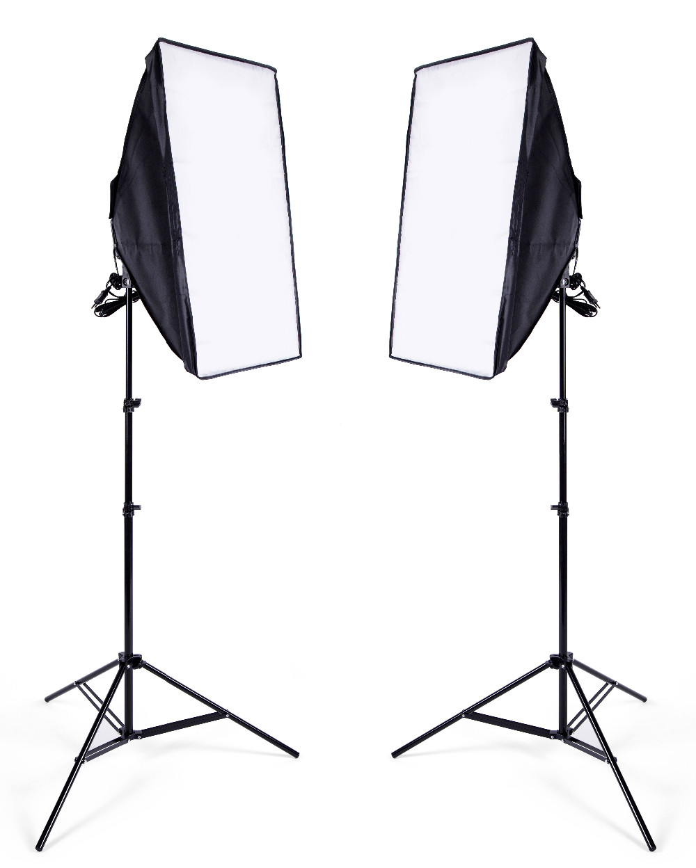 Photo Studio 8 LED 24w Softbox Kit Photographic Lighting Kit
