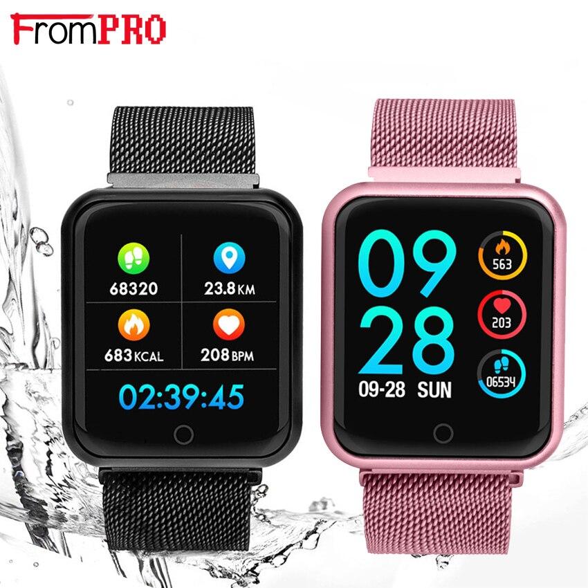 e13fe97596e smart bracelet f68 blood pressure oxygen heart rate monitor watch .