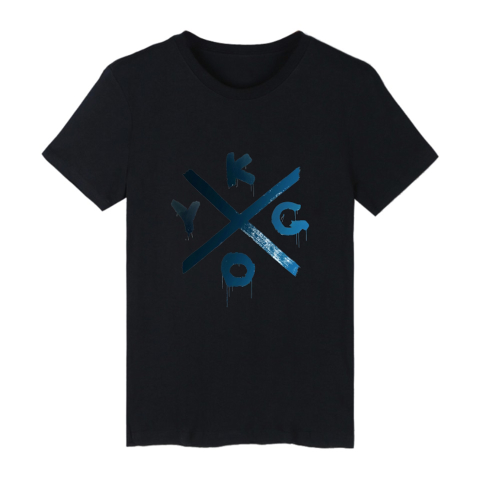 Trendy DJ Kygo Logo Fans Music Festival Design T-Shirt Men/Women HipHop Print Breathable Loose Both sexes Comfortable Tops Tees