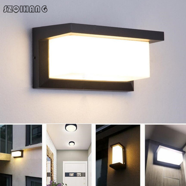 Hot style European wall lamp outdoor waterproof corridor lamp led wall lamp balcony outdoor lamp patio outside wall garden lamp