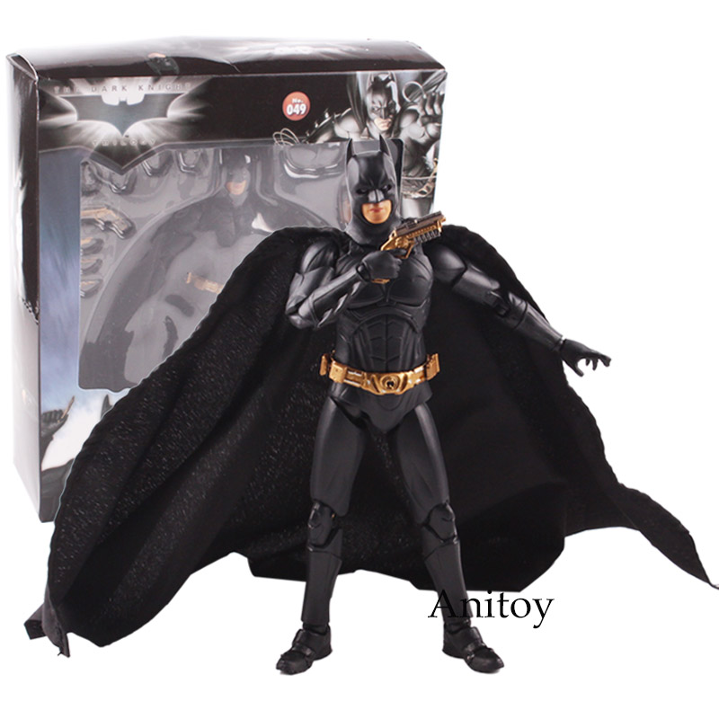 The Dark Night Batman Action Figure PVC Figures Collectible Model Toy 17cm KT4791 transformation robot the last night age of extinction deluxe class figure dark guard exclusive collectible toys